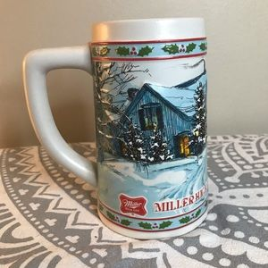 [Miller High Life] Limited Edition Christmas Stein